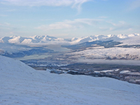 View from Aonach Mor Looking north